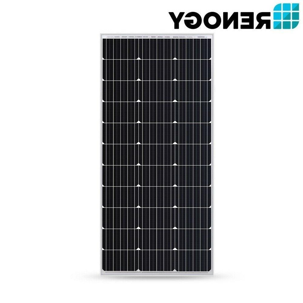 Renogy 100W Solar Panel w/ 10A LCD Charge Controller