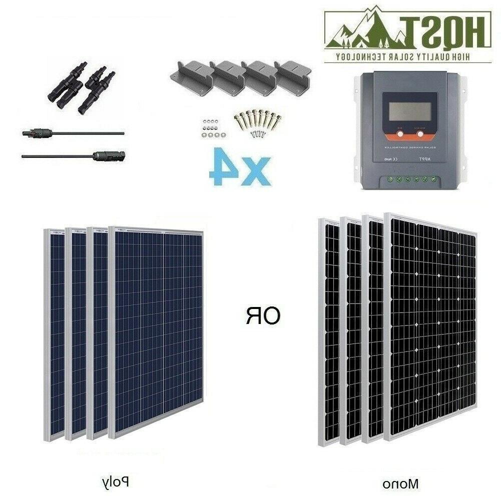400w watt 12v mono solar panel starter