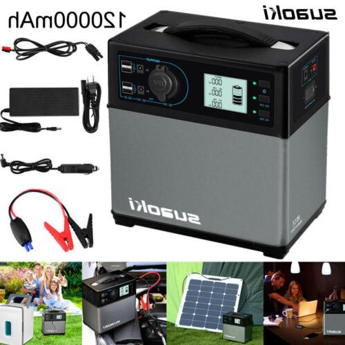 portable 400wh solar electric start