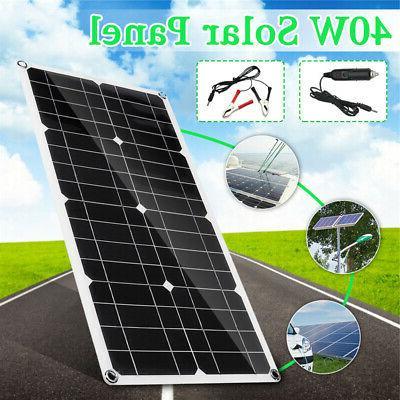40W 18V USB Solar Cell Module Car