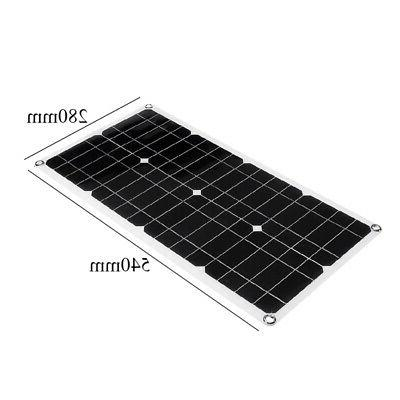40W Solar Panel Battery Cell Module Boat Outdoor