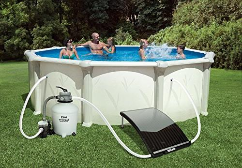 For Intex Bestway Swimming Pools Game 4721 Solarpro Curve Solar Pool Heater Pool Heaters Solar Panels Home Garden