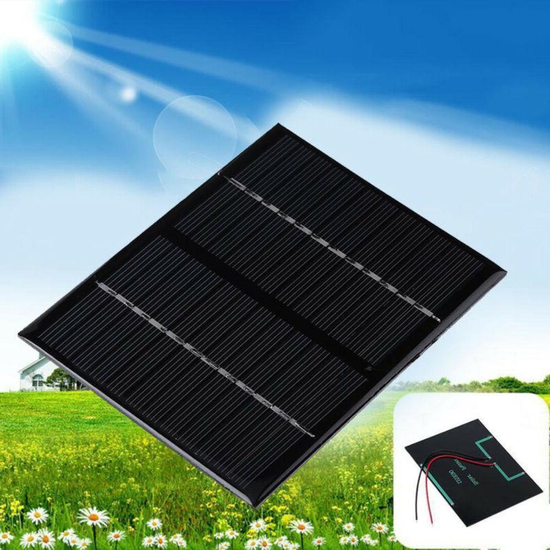 5/9/12V Solar Power For Cell Phone DIY
