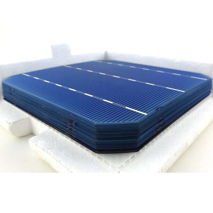 50 <font><b>Piece</b></font> Cell For <font><b>Solar</b></font> Soalr 3 Bars& W <font><b>Solar</b></font> <font><b>Panel</b></font> 156*156*0.2MM