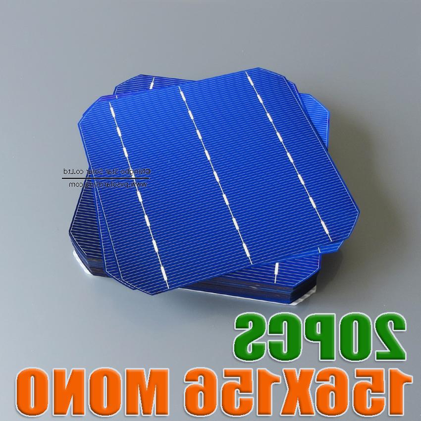 50 <font><b>Piece</b></font> Cell <font><b>Solar</b></font> Charger Soalr Cells 3 Bars& 156*156*0.2MM Monocrystalline