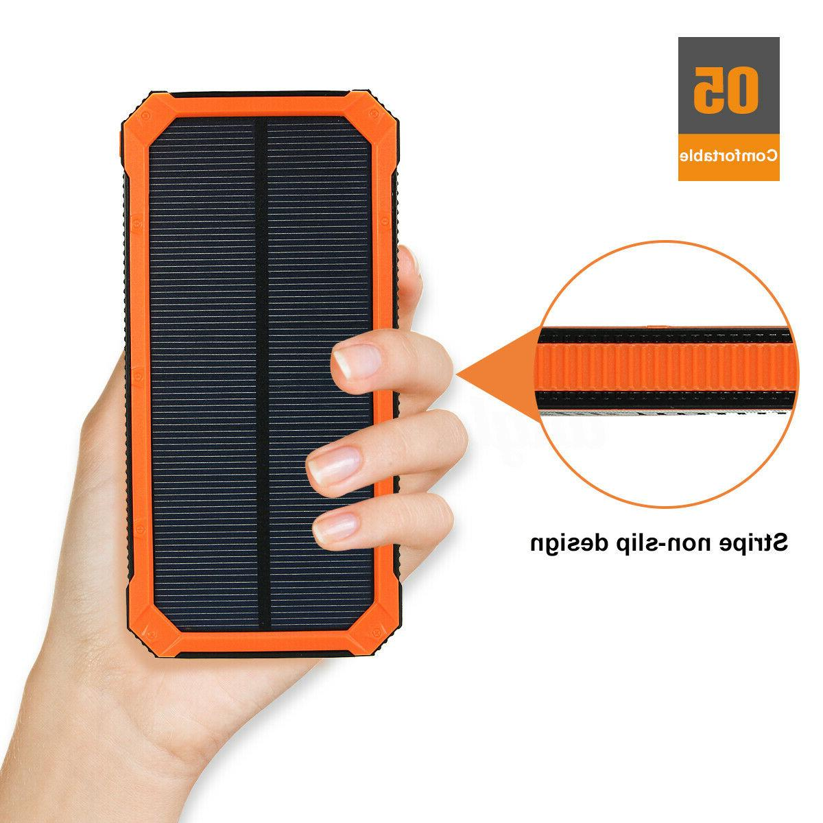 500000mAh Solar Bank USB US