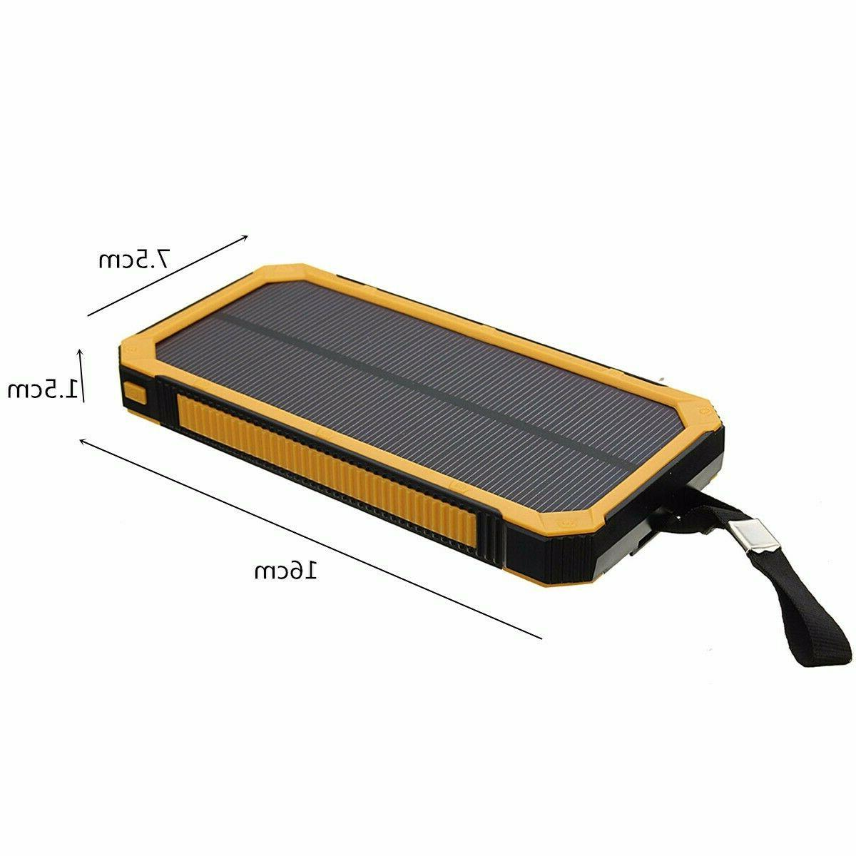 500000mAh Solar USB Battery *