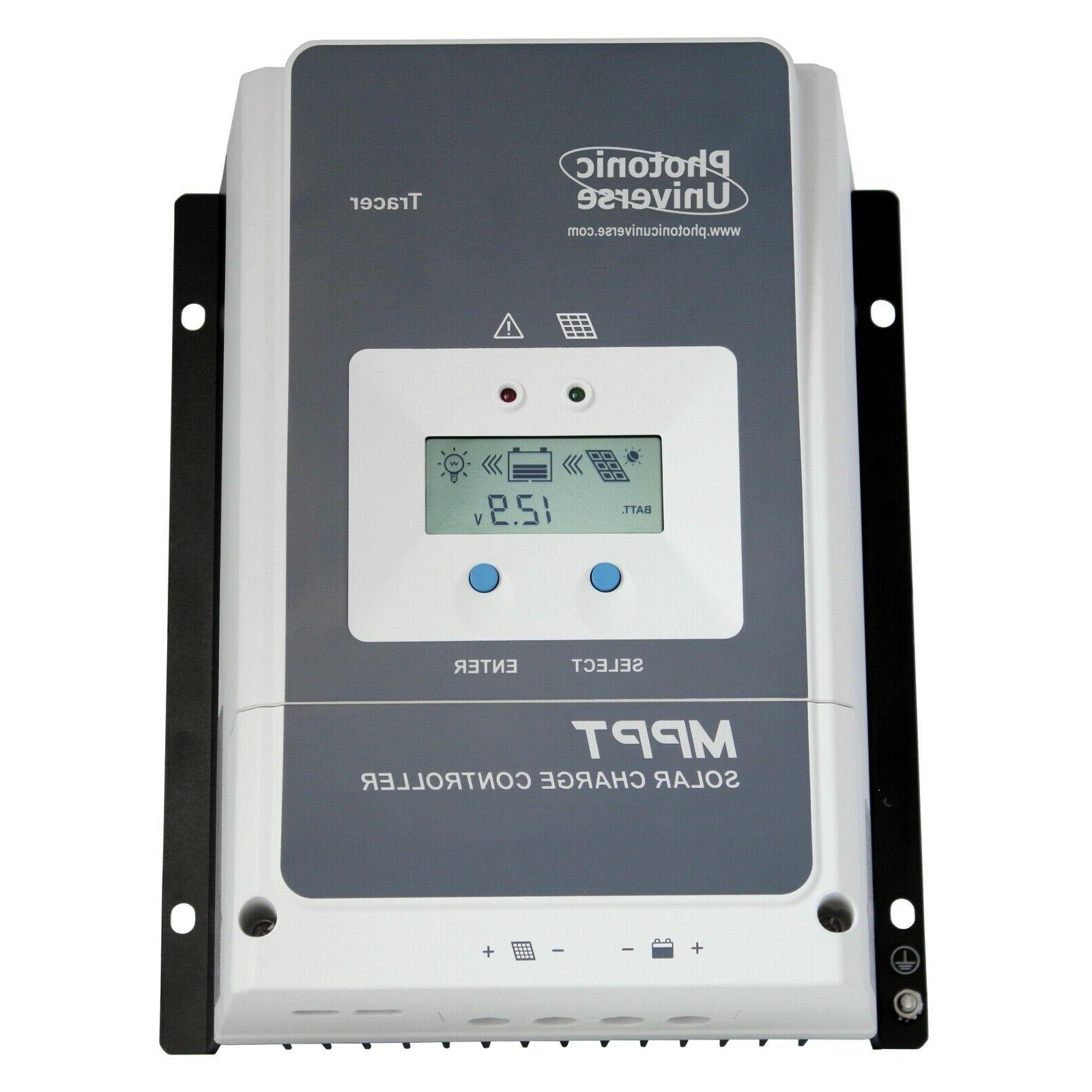 50a mppt solar charge controller with lcd