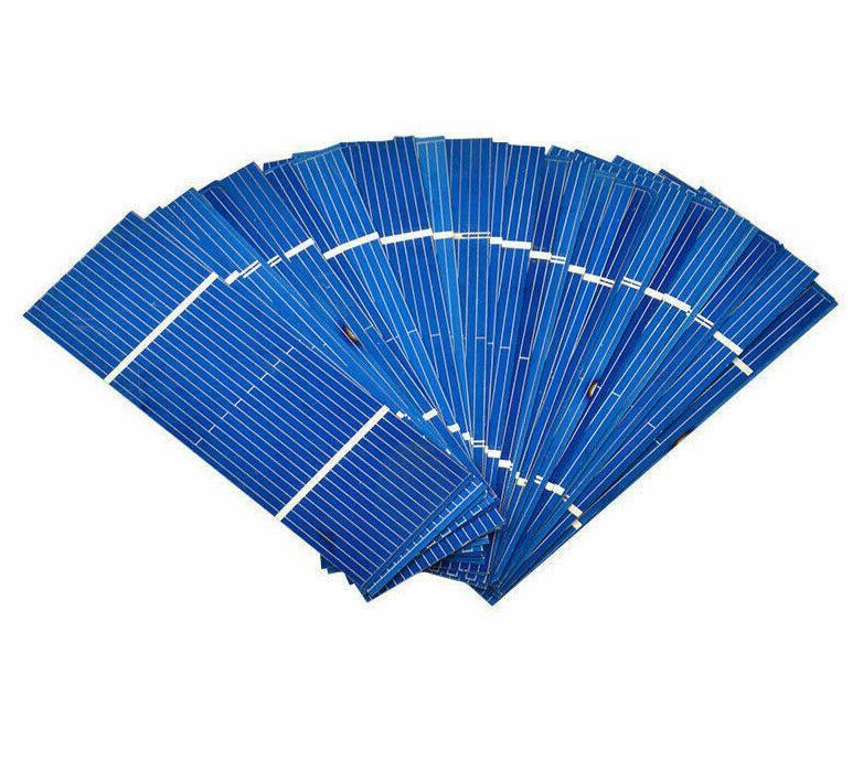 50pcs solar panel solar cell 78x26mm 0