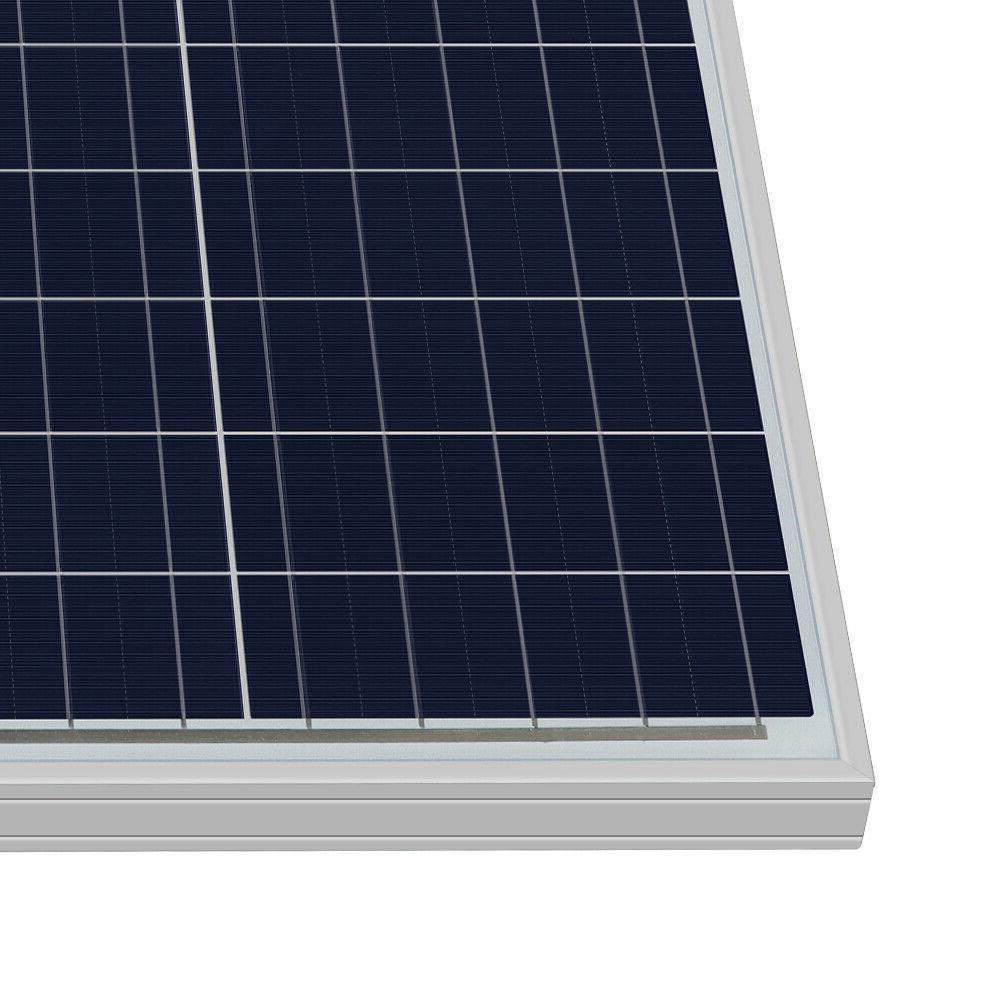 HQST Solar Panel 50 Watt 12 Volt Off Grid Power RV Car Camping