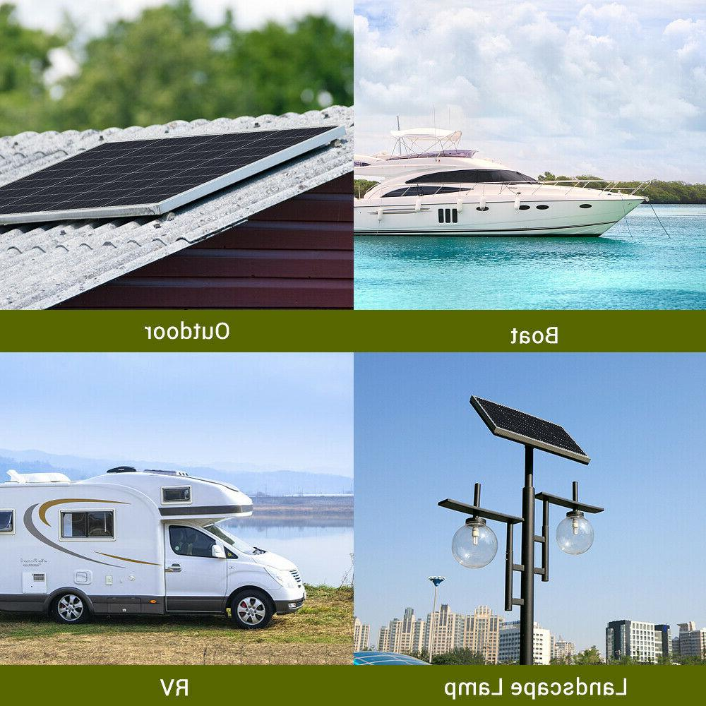 HQST 50W 12V Solar Watt 12 Off Power RV Car Camping
