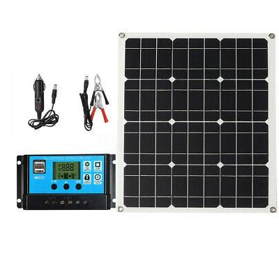 50W 12V-18V Solar Car Outdoor