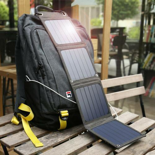 Suaoki Smart IC 14W USB 5V 2.1A Solar Panel Charger for Smar