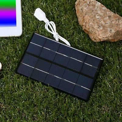 5v 5w usb solar panel power bank