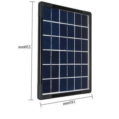 9V 5W Panels Power System Home