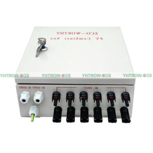 6 String Panel Combiner Circuit Breaker for Grid Kit