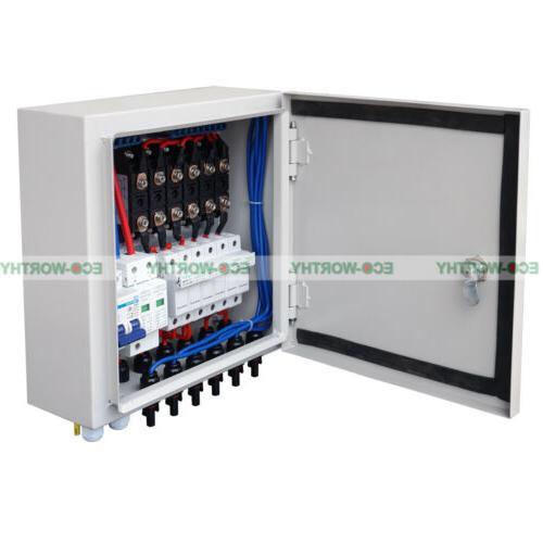 6 PV Panel Combiner Circuit Breaker for Grid Kit