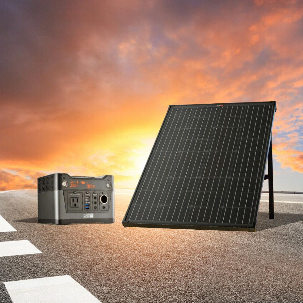 RICH SOLAR 60 Watt 100 Watt 12 Volt Portable Monocrystalline