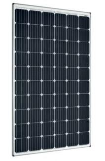 SolarWorld 300-Watt 60-Cell Monocrystalline Solar Panels Bla