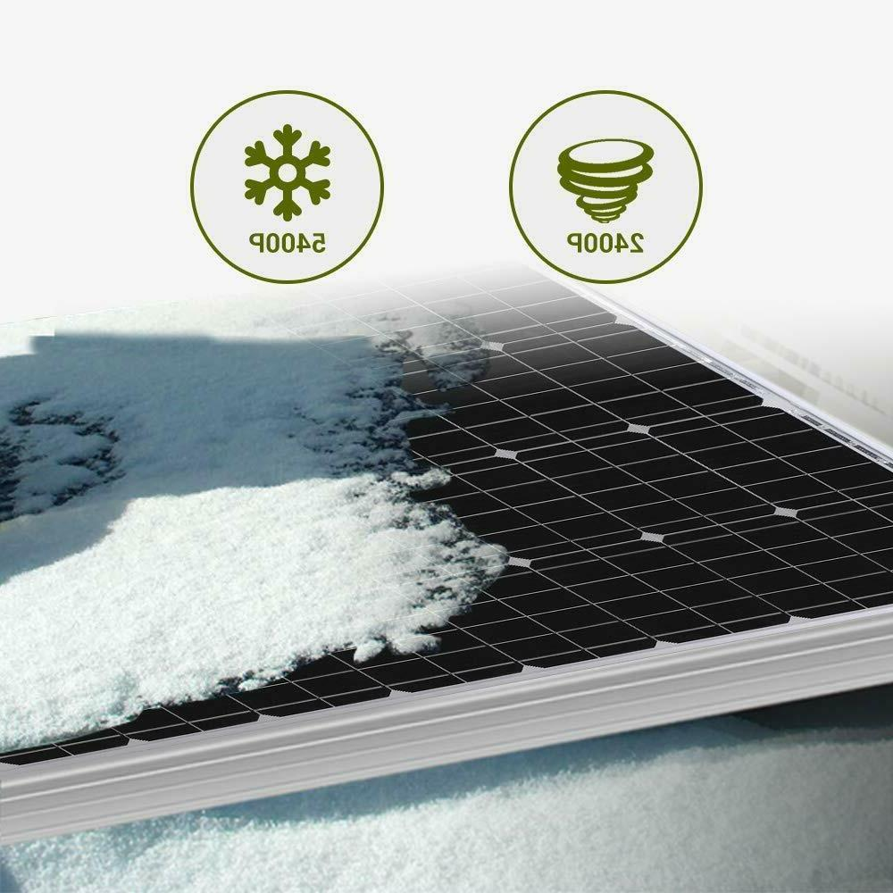 NEW 600W 400W Solar 12V 24V Off Grid Home