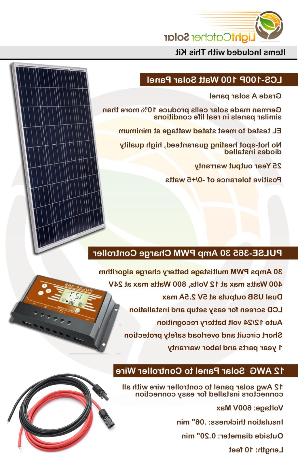 600W System off-grid volt
