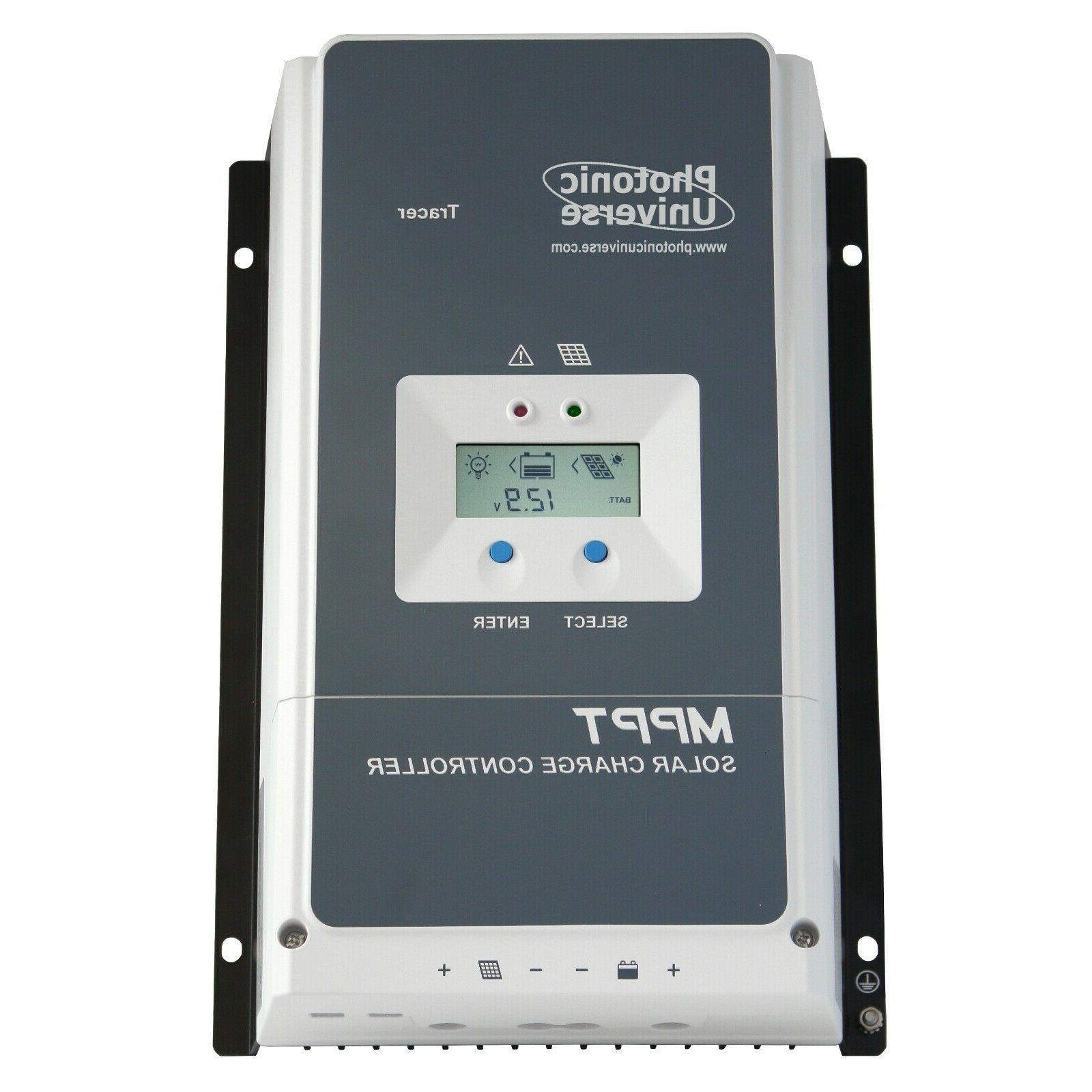 60a mppt solar charge controller with lcd