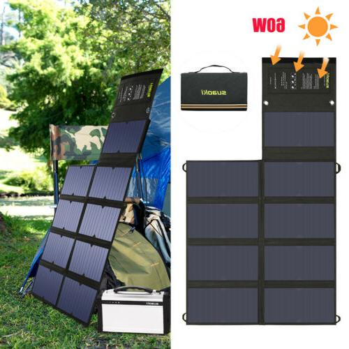 60w solar power panels foldable sunpower solar