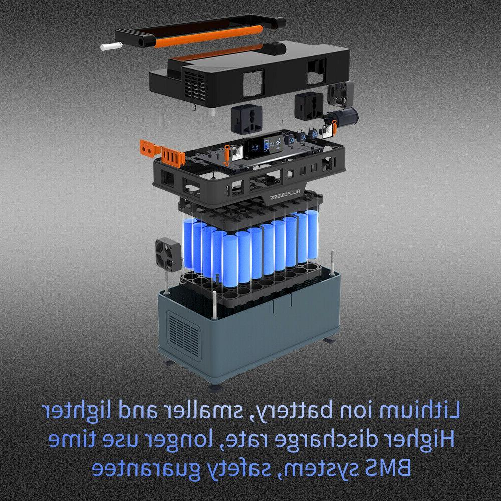 666Wh Station Generator Power Supply Energy Storage