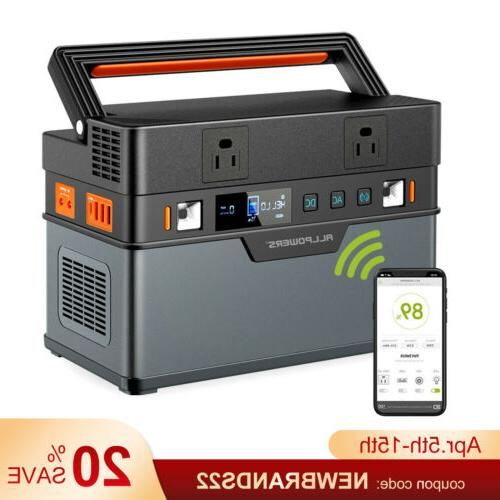 666wh solar power station generator emergency power