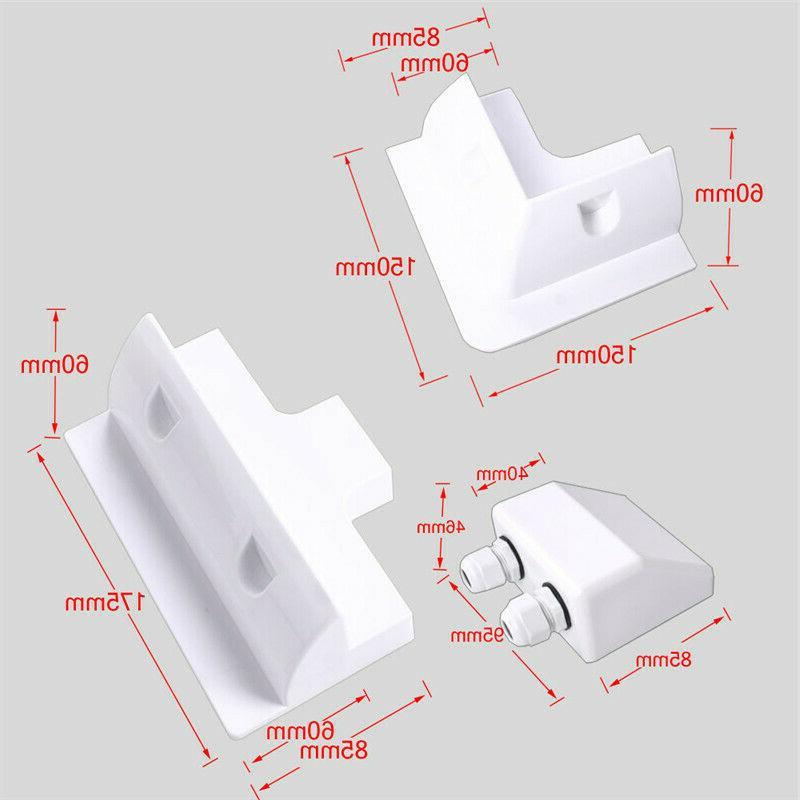 7-Piece Plastic Panel Mount Kit Cable