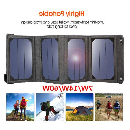 7w 14w 60w solar panel charger portable