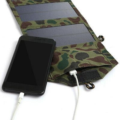 7W Foldable Charger Certified Sun Power Portable Source D2V3