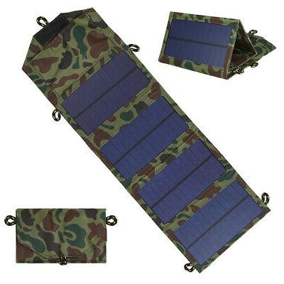 7w foldable solar charger certified sun power