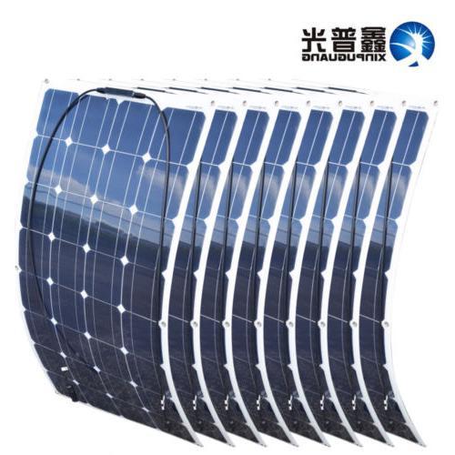 800Watt Solar Mono Module 8 x100w Home Caravan Boat