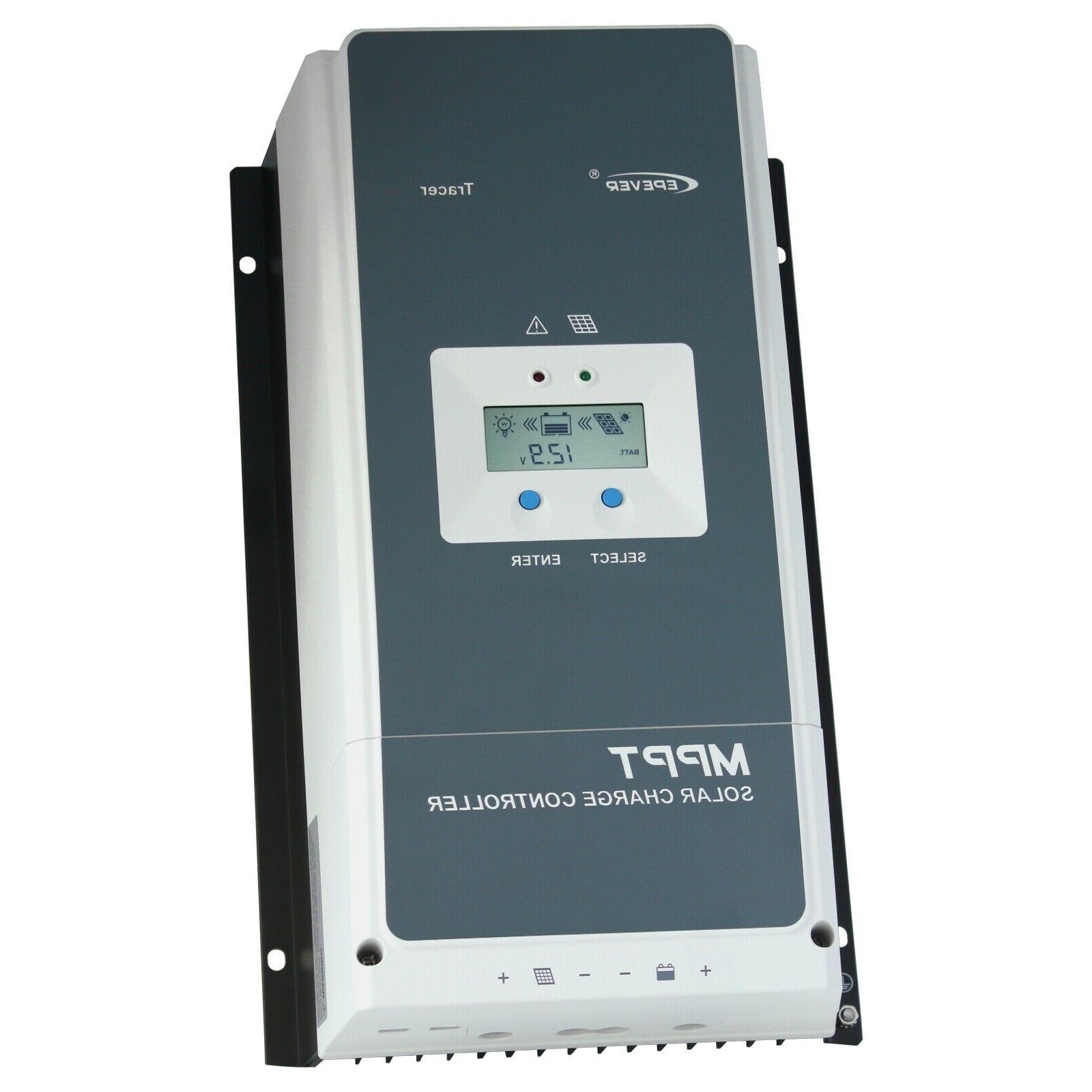 80a mppt solar charge controller with lcd