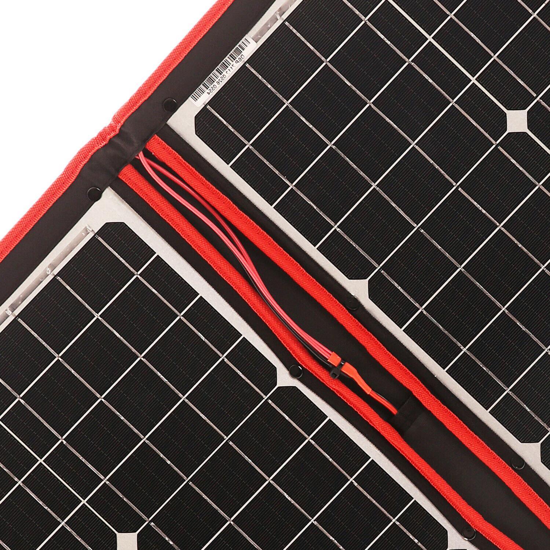 80W 12V/18V Flexible Foldble Solar Panel usb Cell Kit