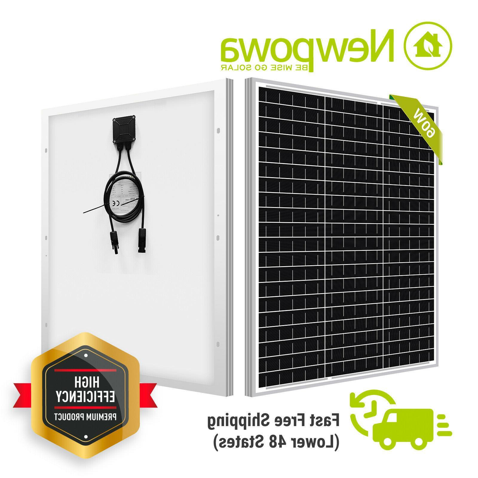 90w watt 24v polycrystalline solar panel rv