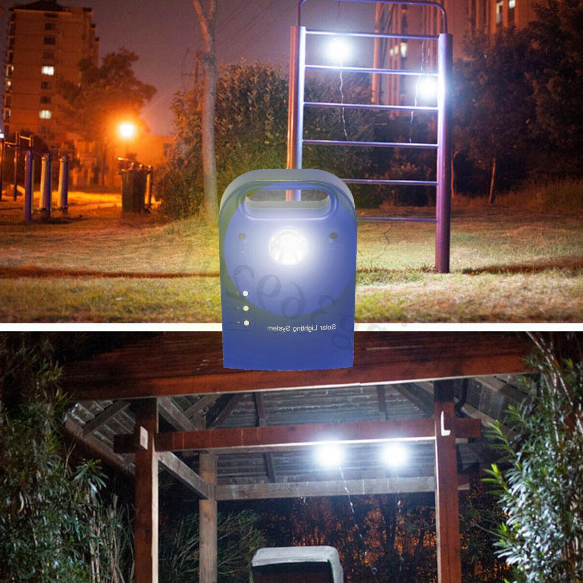 9V Portable Panels Light Power System