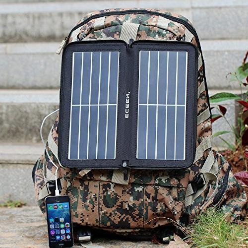 ECEEN Folding Phone Charger USB Port,Zipper iPad, iPods, Samsung, Smartphones Speaker 5V USB-Charging Devices