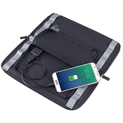 ECEEN Phone Port,Zipper for iPad, iPods, Smartphones All 5V USB-Charging Devices