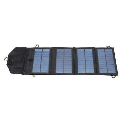 Foldable USB Port Solar Panel Phone For Travel Outdoor
