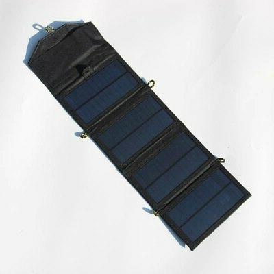 Foldable 7W Solar Phone For Hiking Outdoor