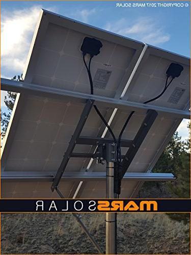 "Mars Solar V2.0 Solar Panel Rack Mount / 2""  Pole Mount Adju"