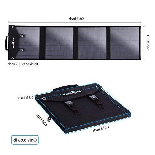 Rockpals Foldable 60W Panel Explorer / Zero Station Generator Devices,