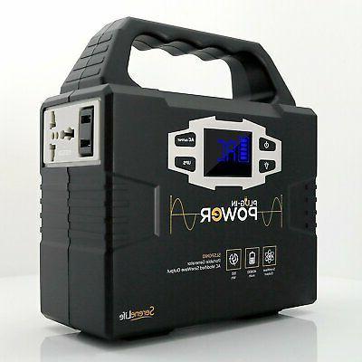 Rechargeable Battery Portable Power Generator - 150-Watt Sol
