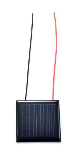 Small Solar Panel 70mA with wires 10 pack