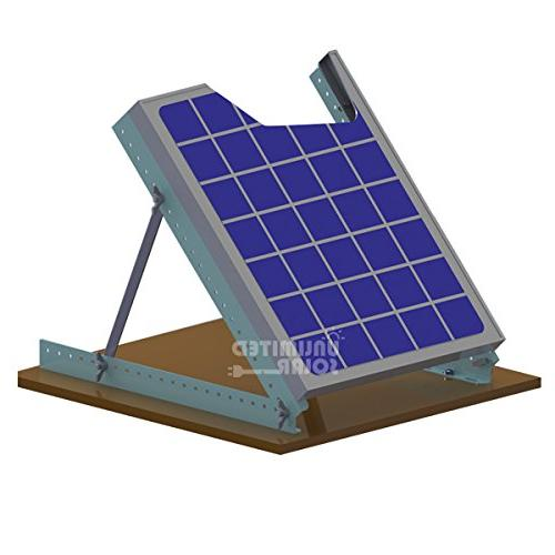 Solar Panel Rv Rooftop Adjustable Tilt Mount Kit