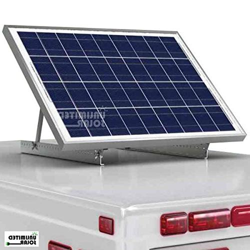 Solar Panel Universal Rv Rooftop Adjustable Tilt Mount Kit