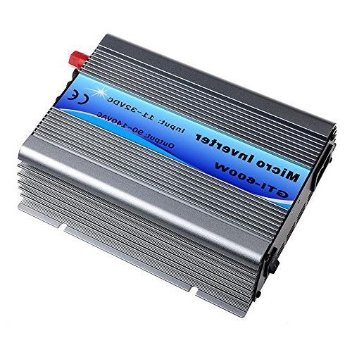 Y&H Grid Tie Inverter 600W Stackable DC11-32V Input AC110V M