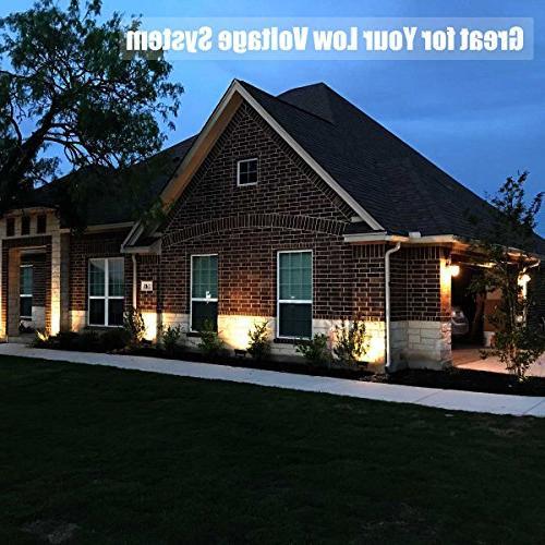 GLW 10w 12v Ac or Warm White Led Flood Light Waterproof Outdoor Halogen Bulb